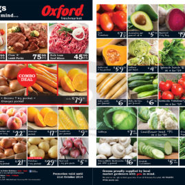 Advert for Oxford Freshmarket