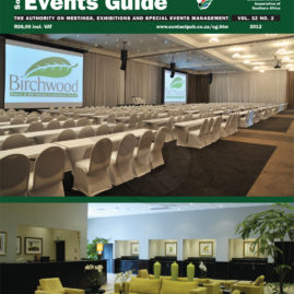 Cover for Southern Africa Conference, Exhibition & Events Guide magazine