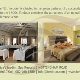 Advert for Fordoun