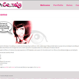 Website for I-Candy