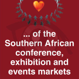 Poster for Southern Africa Conference, Exhibition & Events Guide