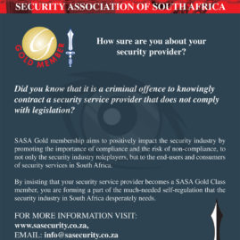 Advert for SASA